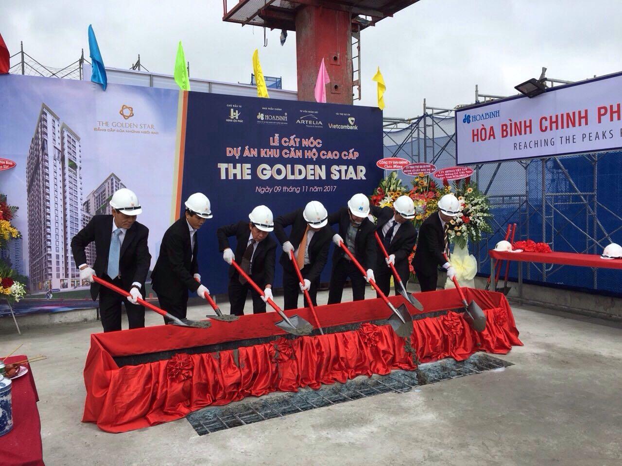 Dự án The Golden Star thi công vượt tiến độ - Ảnh 1.